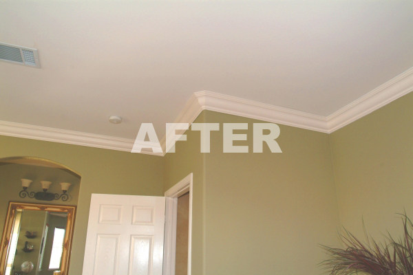 Crown Molding Photo Gallery Before And After Foam Crown