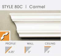 80C foam crown molding