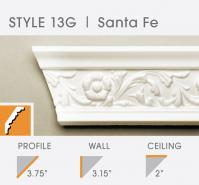 13G decorative foam crown molding